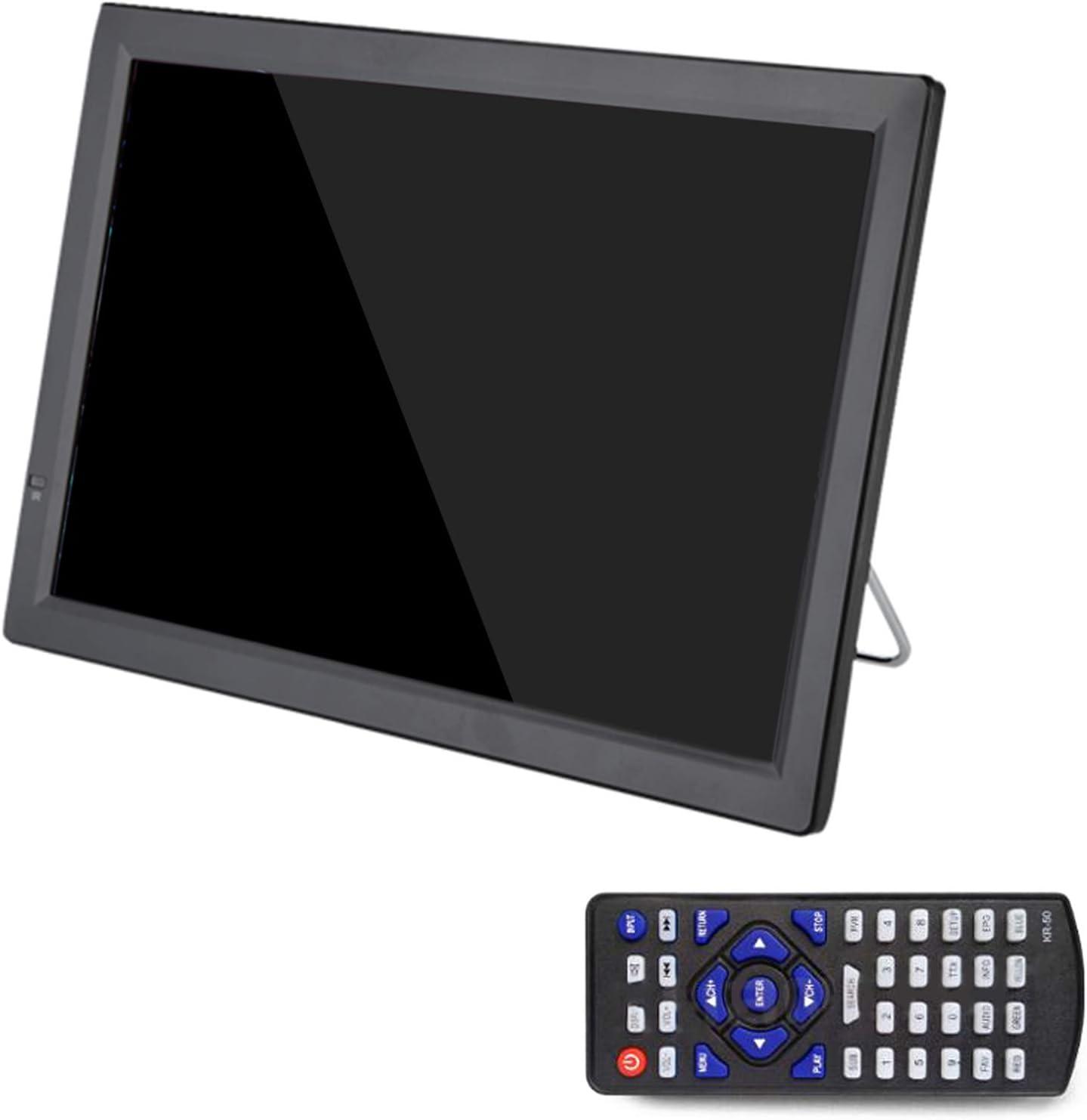 Adanse D14 TV PortáTil HD de 14 Pulgadas DVB-T2 ATSC TelevisióN AnalóGica Digital TV Peque?A para Coche Soporte MP4 AC3 Monitor HDMI para PS4 (Enchufe de la UE): Amazon.es: Electrónica