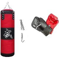 10749 Kit de boxeo todo en uno con guantes saco y gancho de entrenamiento