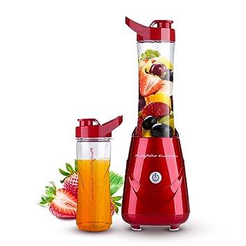 Decdeal Parytretro - 300W Batidora de Vaso para Zumo de Frutas y Verduras / Smoothie (