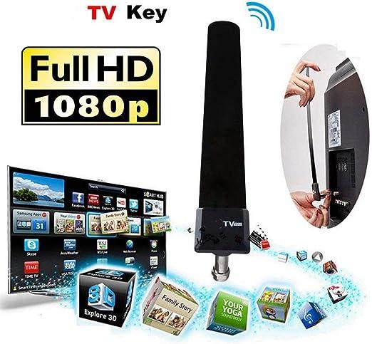 YuandCheng HD de Interior Antena de televisión satelital Interior Magic HDTV Familia Propósito General: Amazon.es: Hogar