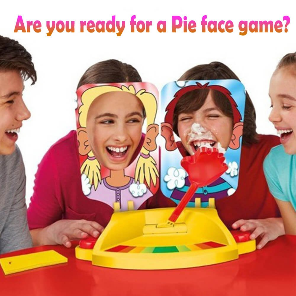 ixaer Pie Face Game Tricky Toys Double Cream Face Mask Family Game for Children Rocket Gaming Family Kids Children Novelty Toys Gift. by ixaer (Image #6)