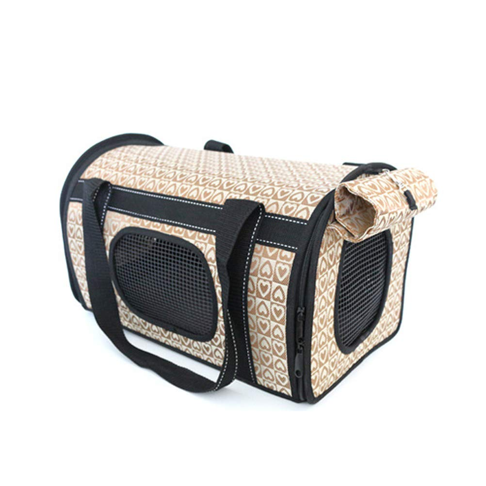BROWN Side Loading Travel Bag   Ventilated Pouch With Top Handle & Shading Cloth (color   BROWN)
