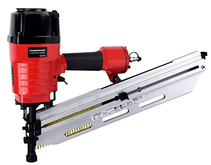 PowerSmart PS6120 Pneumatic 21 Degree Round Head Framing Nailer ...