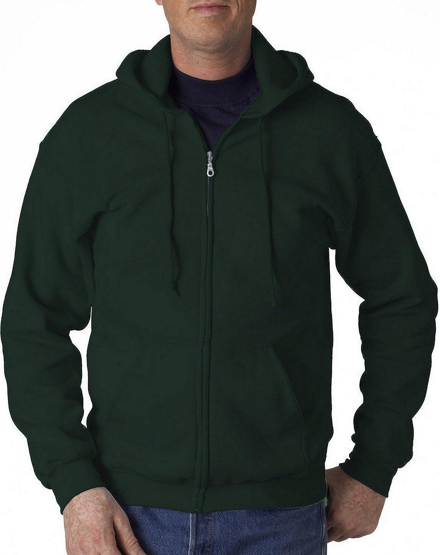 Fashion Gildan 18600 Zip Fleece Sweatshirt
