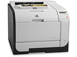 HP LaserJet Pro 400 m451dn Duplex Color Laser Printer (Renewed)