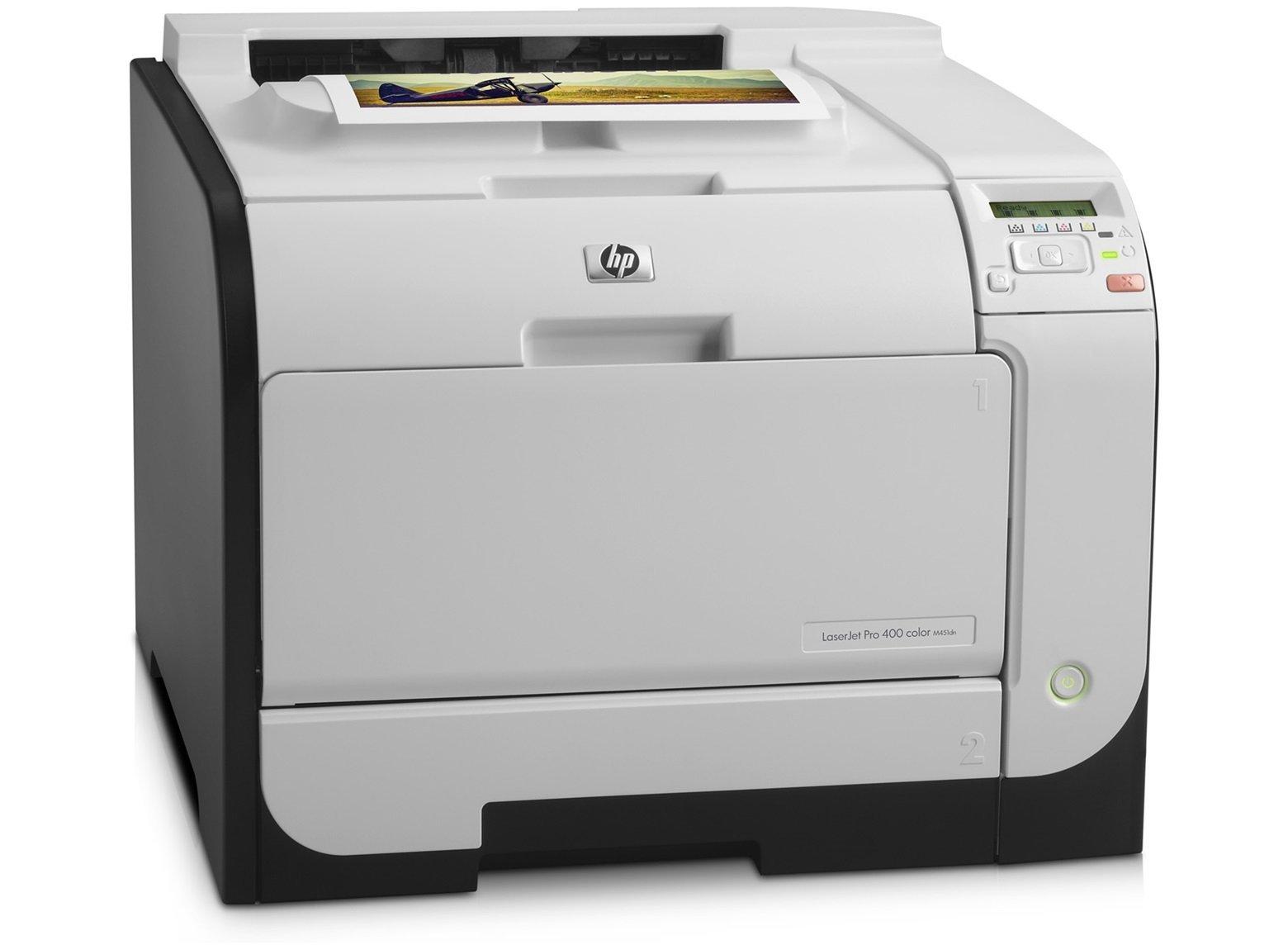 HP LaserJet Pro 400 m451dn Duplex Color Laser Printer (Renewed)