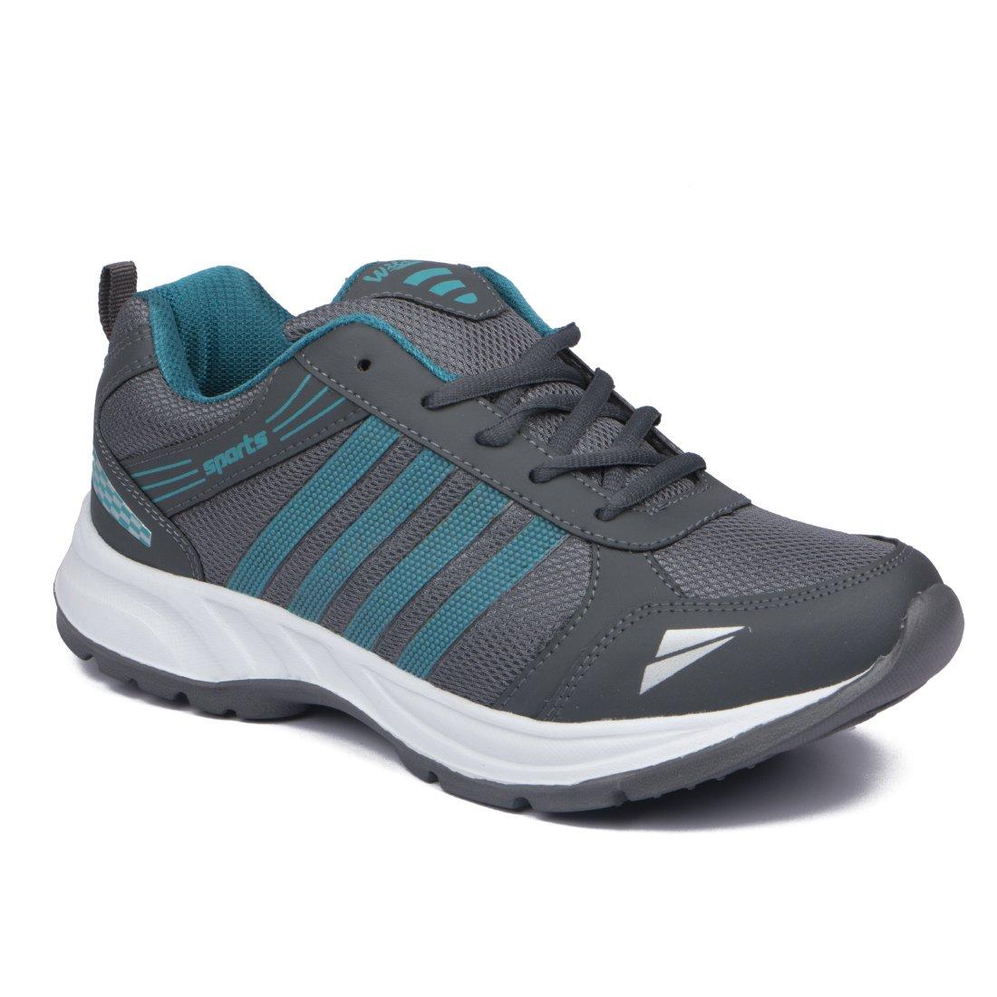 ASIAN Shoes Wonder-13 Grey Firozi Mesh Shoes product image