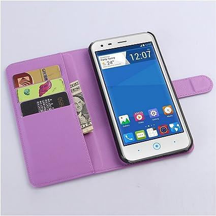 Amazon.com: ZTE Blade S6 Plus/ S6 lux Case, Premium PU ...