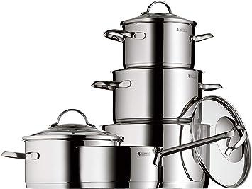Wmf 0721056380 Batterie De Cuisine Provence Plus 5 Pieces Amazon