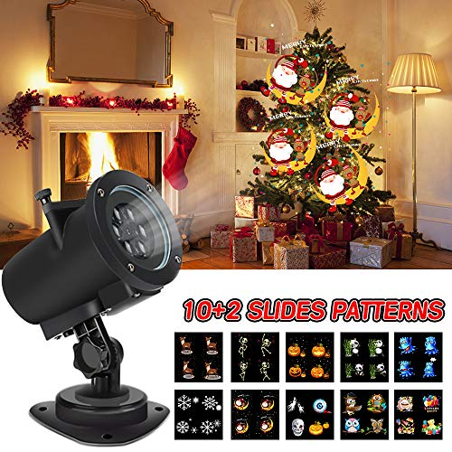 Halloween Christmas Projector Lights, Led Projector Lights with