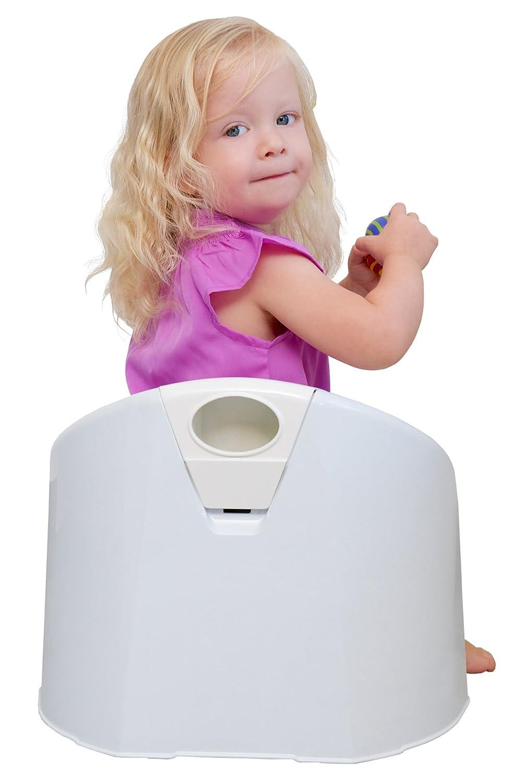 Rotho Babydesign TOP Xtra Komfort Kindertopf 20504029501 Ab 18 Monate Blau Lagoon Mit herausnehmbaren Aufsatz