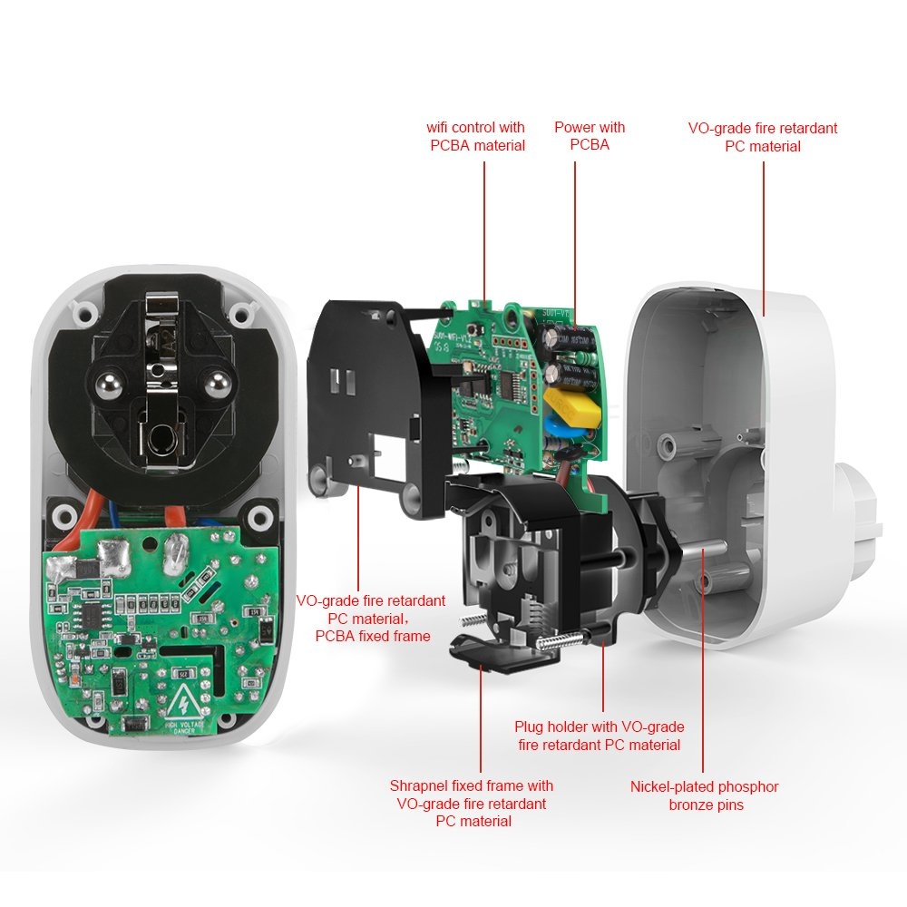 WLAN Steckdosen WIFI Steckdosen funktionieren mit  Alexa EchoGoogle