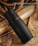 Eyeskey 8-24x42 Monocular Compact Telescope Lightweight Clear Bright Images HD Scope Easy to