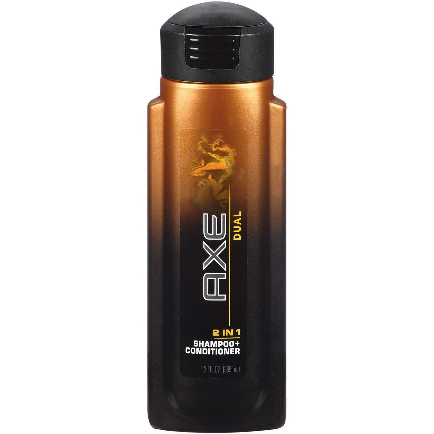 AXE Dual 2 in 1 Shampoo Plus Conditioner, 12 Ounce - 6 per case. by AXE