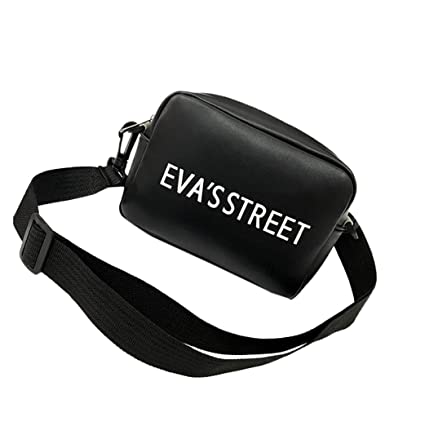 e92c58d2312 Amazon.com : Sunshinehomely Women's Fashion Leather Letter Print Bag ...