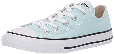 47242b5a Converse Girls Kids' Chuck Taylor All Star 2019 Seasonal Low Top Sneaker,  Teal Tint