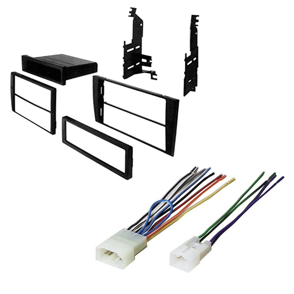 Amazon.com: 1998-2005 Lexus GS CAR Stereo Radio Dash Installation MOUNTING  KIT W/Wiring Harness: Car Electronics