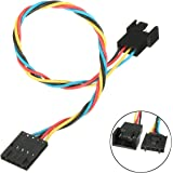 Ochoos 1Pc 5 Pin to 4 Pin Dedicated Fan Adapter Conversion Cable for Dell