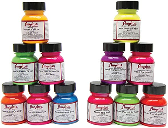 Angelus NEON Acrylic Leather Paint