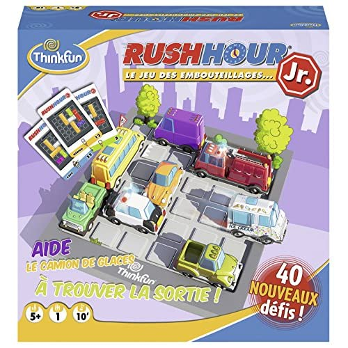 Ravensburger Jeu de Logique - Rush Hour Junior, 76304