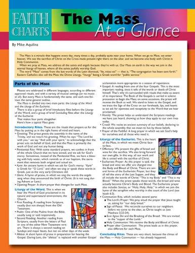 Faith Charts: The Mass at a Glance