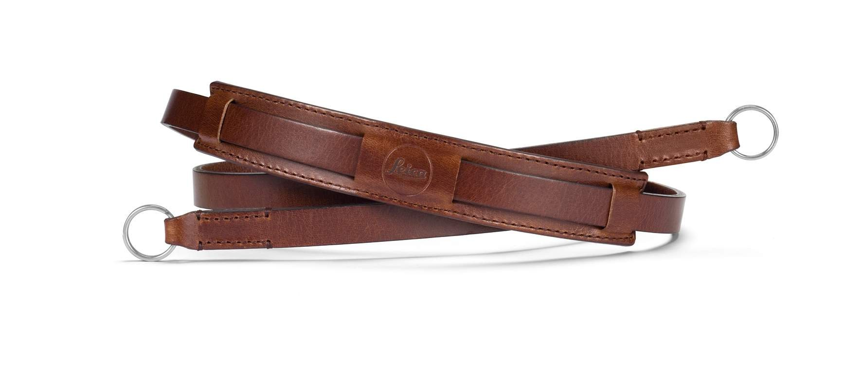 Leica Leather Neck Strap for The CL Cameras (Vintage Brown)