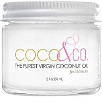COCO & CO. Organic Pure Extra Virgin Coconut Oil for Hair & Skin, Beauty Grade -...