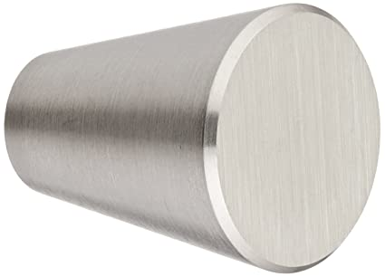 Siro Designs SD44 276 Brushed Cabinet Knob, 0.80 Inch, Stainless Steel