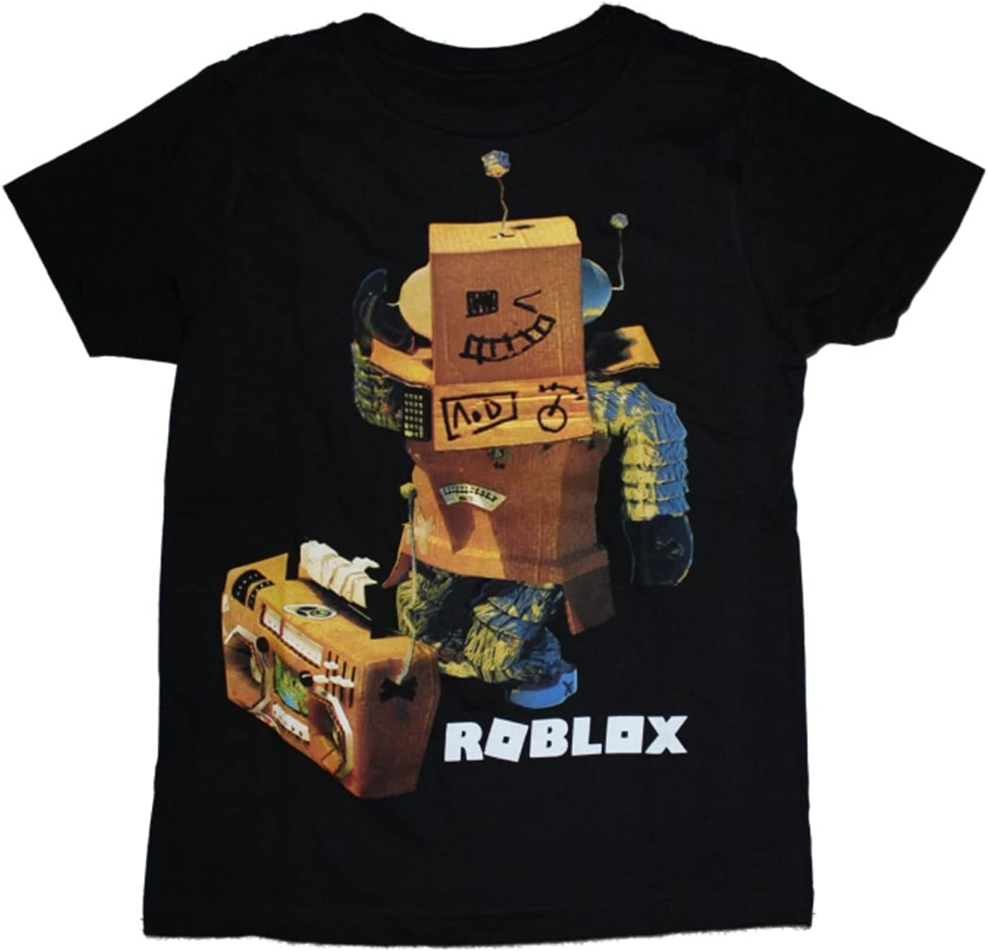 Amazon Com Roblox Boys T Shirt 4 16 Clothing
