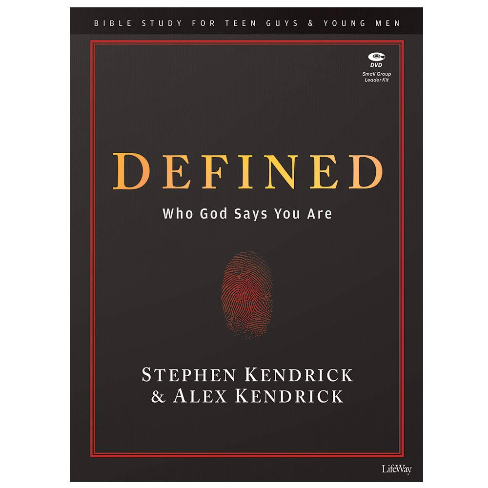Defined - Teen Guys' Bible Study Leader Kit: Who God Says You Are by Lifeway Church Resources