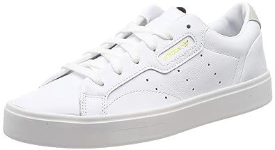 863d3faa9 Amazon.com | Adidas Sleek Womens Sneakers White | Fashion Sneakers