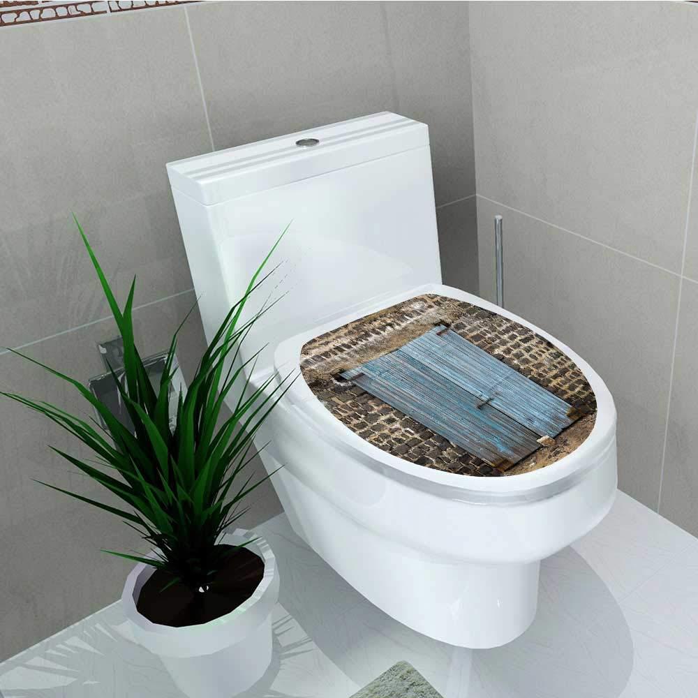 Philip C. Williams 防水&取り外し可能なステッカー 素朴な素朴な納屋 薪 村効果 収納 ガーデン 浴室 トイレ カバー ステッカー 幅6×長さ8 W11