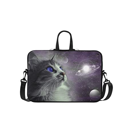a386f79ad2e4 Amazon.com: InterestPrint Animal Cat Laptop Sleeve Case Bag, Cat in ...