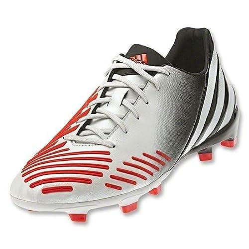 adidas predator absolion lz j (bianco / arancio) - calcio
