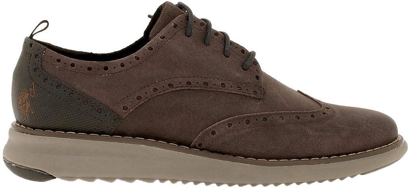 Zapato Hombre U.S. Polo Assn Vick Suede Marrón 43 marrón ...