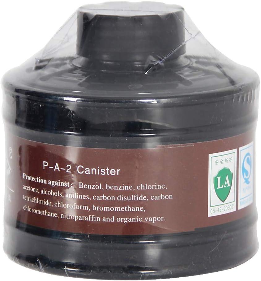 f/ür industrielle Anwendung Filterkanister 40 mm f/ür Atemschutzmaske chemische Handhabung Lackieren und Schwei/ßen CE-Zertifizierung
