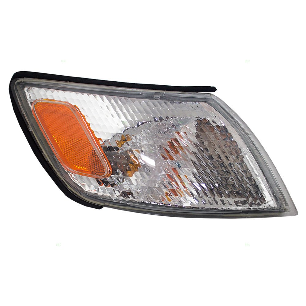 Passengers Park Signal Corner Marker Light Lamp Lens Replacement for Lexus 8151033050 Aftermarket 4333276573