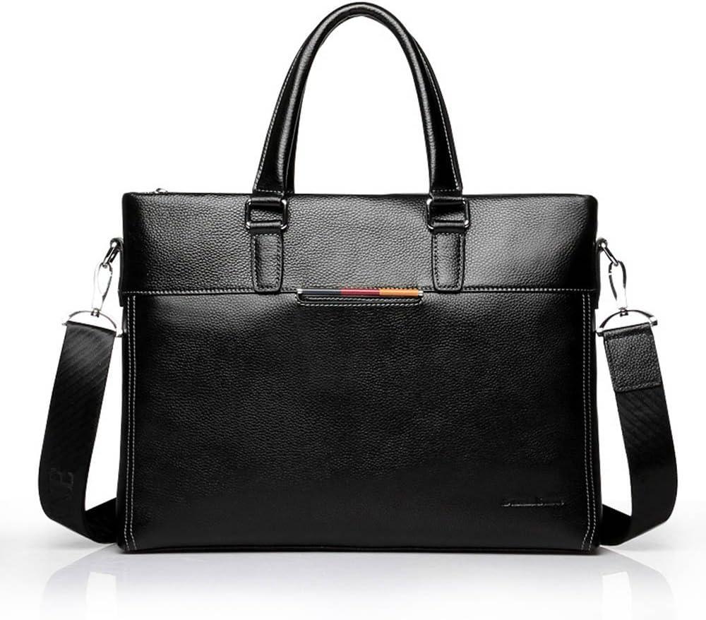 Men/'s Leather Messenger Bag Tote Handbag Shoulder Bag Vintage Casual Purse Bags