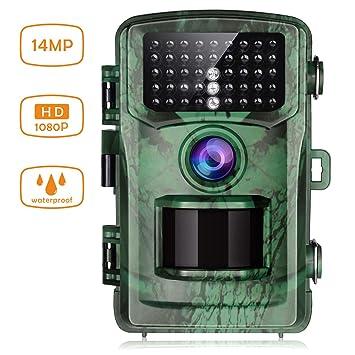 Wasserdichte Infrarot 1080P Jagdkamera Nachtsicht Kamera Outdoor Wildlife Cam