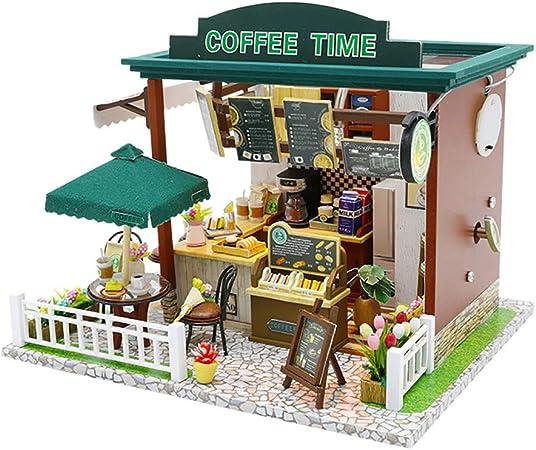 Lixibei Dollhouse DIY Kit, Miniatura con Muebles Decoraciones ...