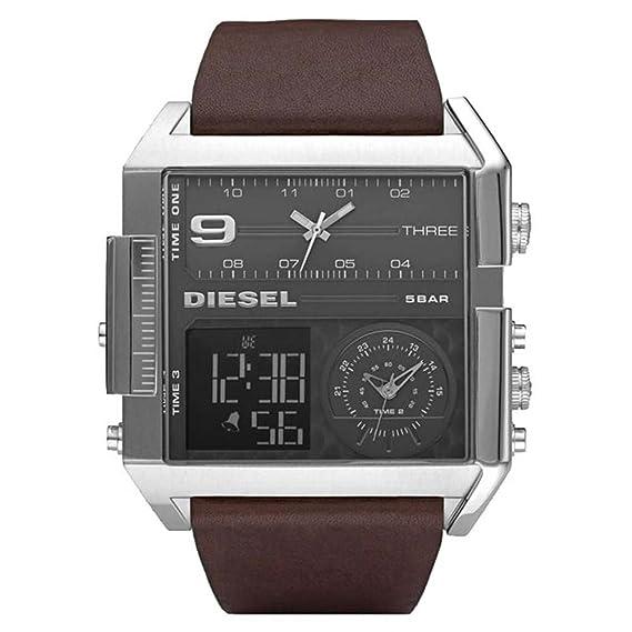 f8a85f8d676eb8 Diesel DZ7209 - Orologio da polso uomo 3 time: Amazon.it: Orologi