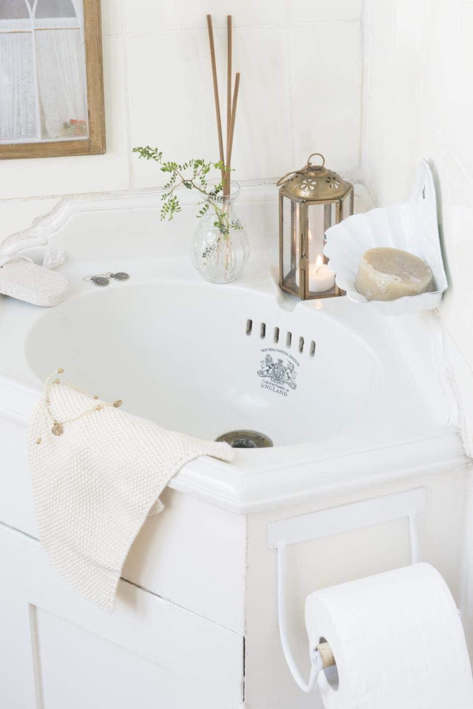 Toilettenpapierhalter m//Holzrolle