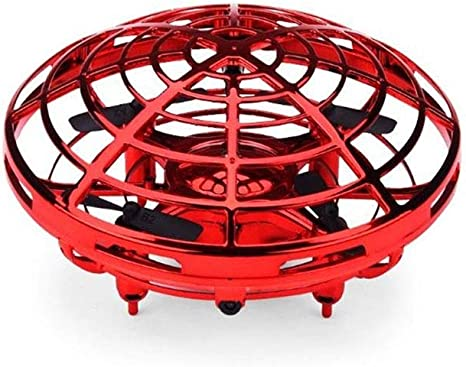 Manual Ufo Idea Control Drone Mini Flying Helicopter Ufo Rc Drone Hand Sensing Aircraft Electronic Model Quadcopter Flayaball Toys Small Drohne For Children Color Red Amazon Ca Home Kitchen
