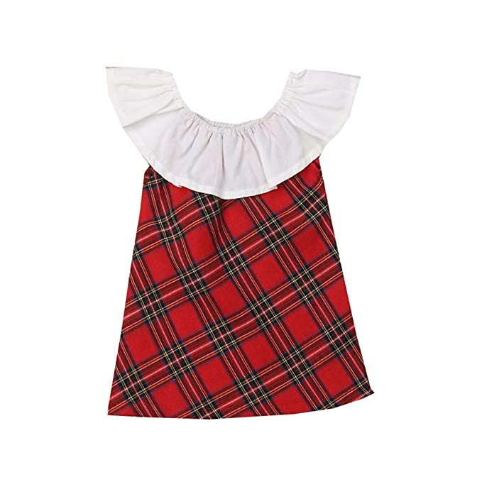 cefda6f368762 Amazon.com: FCQNY Kid Little Girl Summer Casual Sleeveless Pullover ...