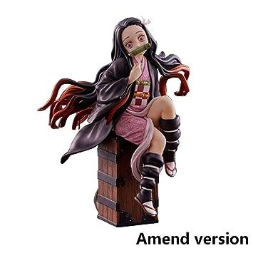 Demon Slayer PVC Aktion Figur Tanjirou Nezuko Anime Kimetsu no Yaiba Spielzeuge