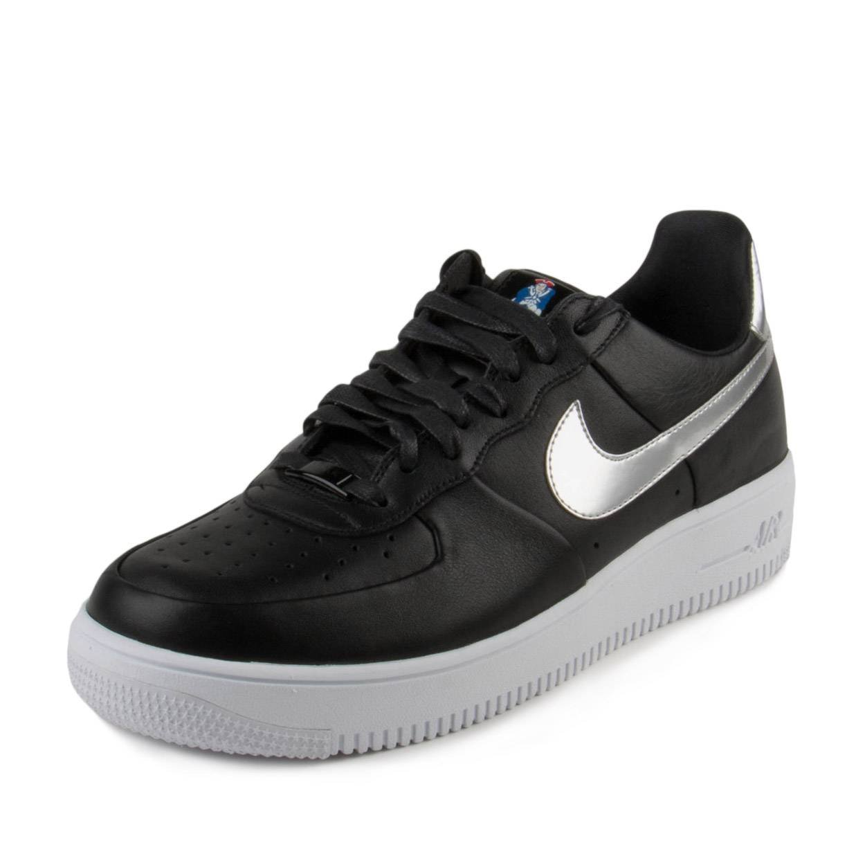 check out e4097 f67b5 Amazon.com   Nike Mens Air Force 1 Ultra Force RKK Patriots Black College  Navy-White Leather Size 8   Basketball