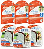 OFF! Mosquito Repellent Combo Set of 3 Clip On Fans and 6 refills