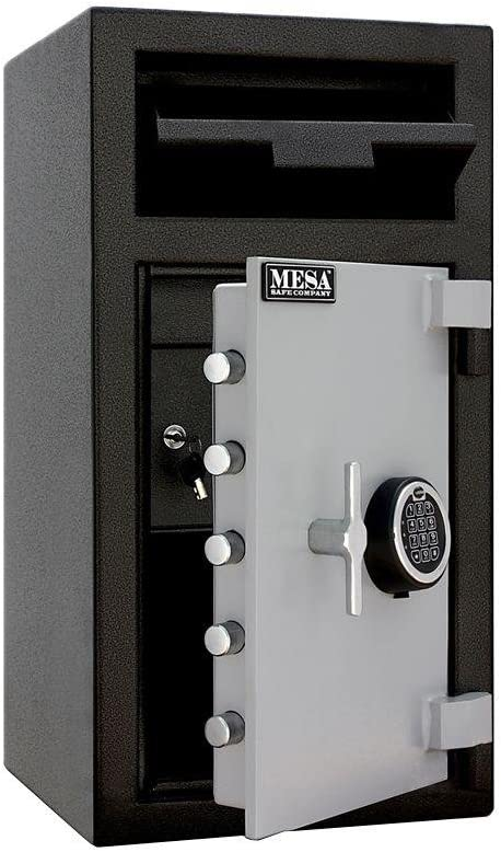 B001D6DG0G Mesa Safe Company Model MFL2714E Depository Safe with Electronic Lock, Two Tone Gray 61utlYewZcL.SL1000_
