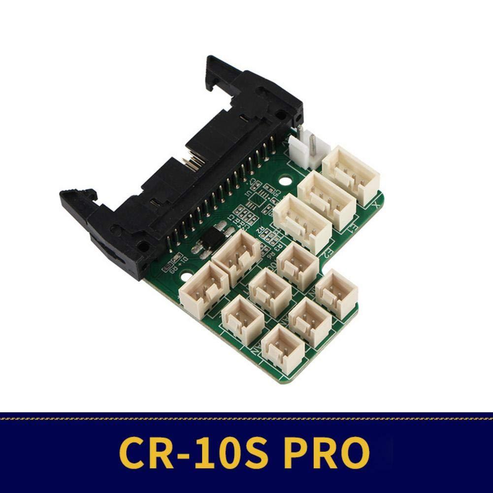 Kardu.C Imprimante 3D Accessoires pour Carte M/ère CR-10S Pro Bornier Daffichage De La Carte M/ère