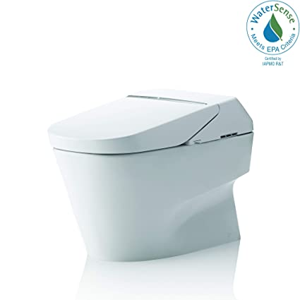 Toto MS992CUMFG#01 Neorest 1 0 GPF and 0 8 GPF 700H Dual Flush Toilet,  Cotton White